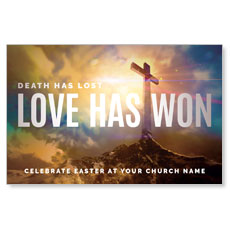 Love Has Won Postcard