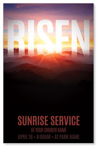 Mountain Risen Postcards