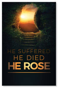 Suffered Died Rose Postcards