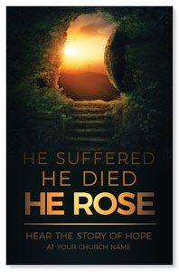 Suffered Died Rose Church Postcards