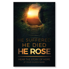 Suffered Died Rose Postcard