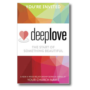 Deep Love Color Postcards