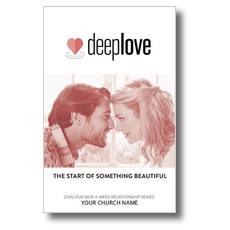 Deep Love Couple Postcard