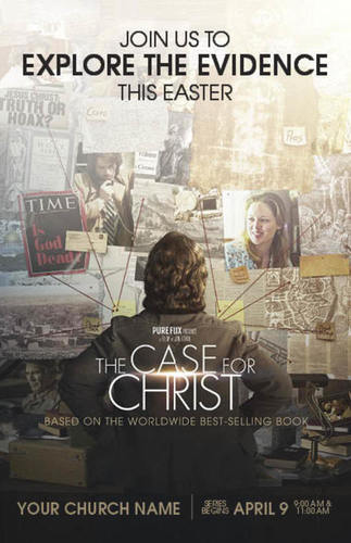 Church Postcards, Case for Christ, The Case for Christ Movie, 5.5 X 8.5