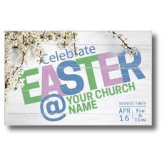 Easter At Flower Branch Postcard