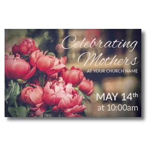 Mothers Day Peonies Postcards