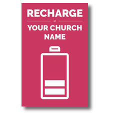 Recharge Postcard
