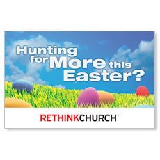 UMC Easter Hunt Postcard