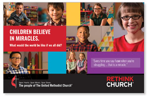 UMC Easter Miracles Postcards