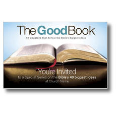 The Good Book Postcard