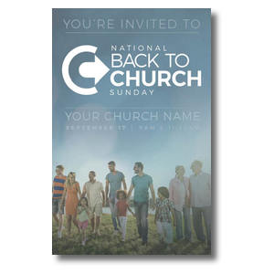 Back to Church Sunday People 4/4 ImpactCards