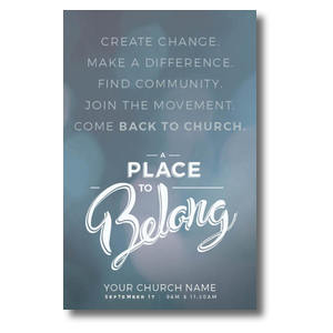 Place to Belong Movement Postcards
