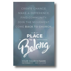 Place to Belong Movement Postcard