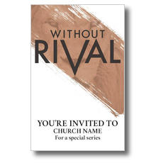 Without Rival Postcard
