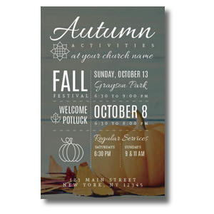 Autumn Activities 4/4 ImpactCards