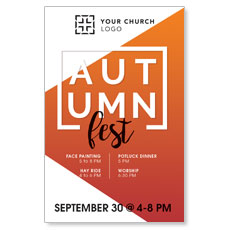 Autumn Fest Postcard