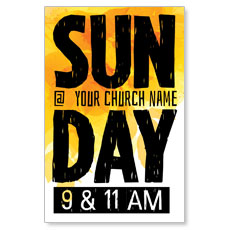 Bold Sunday Postcard