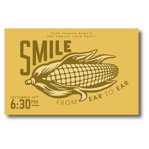 Ear to Ear Smile Postcards