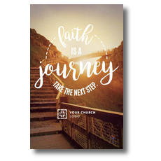 Faith Journey Postcard