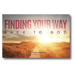 Finding Your Way Postcards
