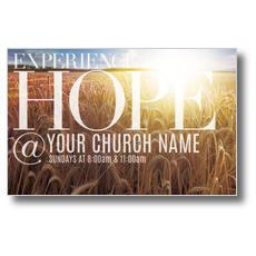 Hope Wheat Field Postcard