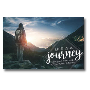 Mountains Journey Postcards