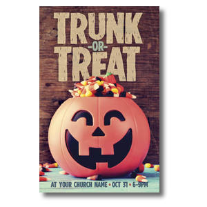 Trunk or Treat Postcards