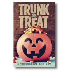 Trunk or Treat Postcard