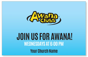 Awana Clubs Postcards
