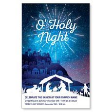 Bethlehem Blue Postcard