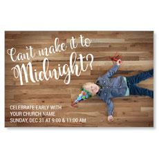 Cant Make It Midnight Postcard