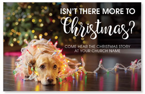 Dog More to Christmas 4/4 ImpactCards