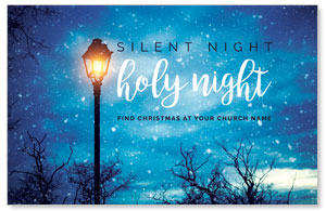 Holy Night Lamp Post 4/4 ImpactCards