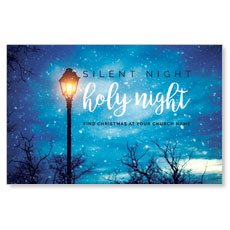 Holy Night Lamp Post