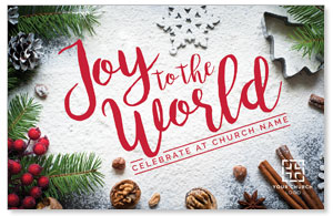 Joy To The World Snow 4/4 ImpactCards
