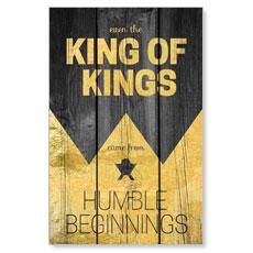 King of Kings Wood Postcard