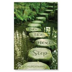 Next Step Green Path Postcard