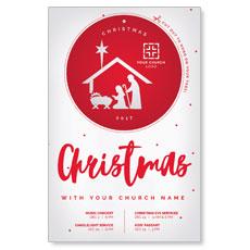 Ornament Cut Out Postcard
