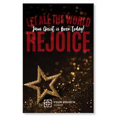 Rejoice Star Postcard
