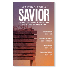 Waiting For A Savior Postcard