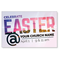 Easter At Calvary Postcard