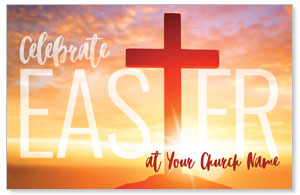 Easter Cross Sunrise Postcards