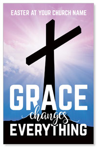 Grace Changes Everything Cross Postcards