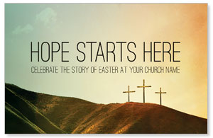 Hope Starts Here Calvary Postcards