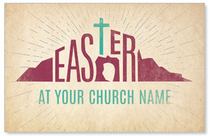 Parchment Easter Postcards