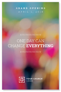 Colorful Change Everything Postcards