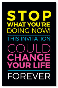 Could Change Your Life Postcards