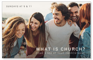 What Is Church Postcards