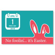 UMC Easter April Postcard
