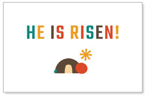 UMC Easter Risen Postcards